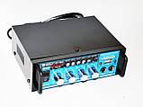 Стерео усилитель BT-188A Bluetooth + Караоке, фото 4