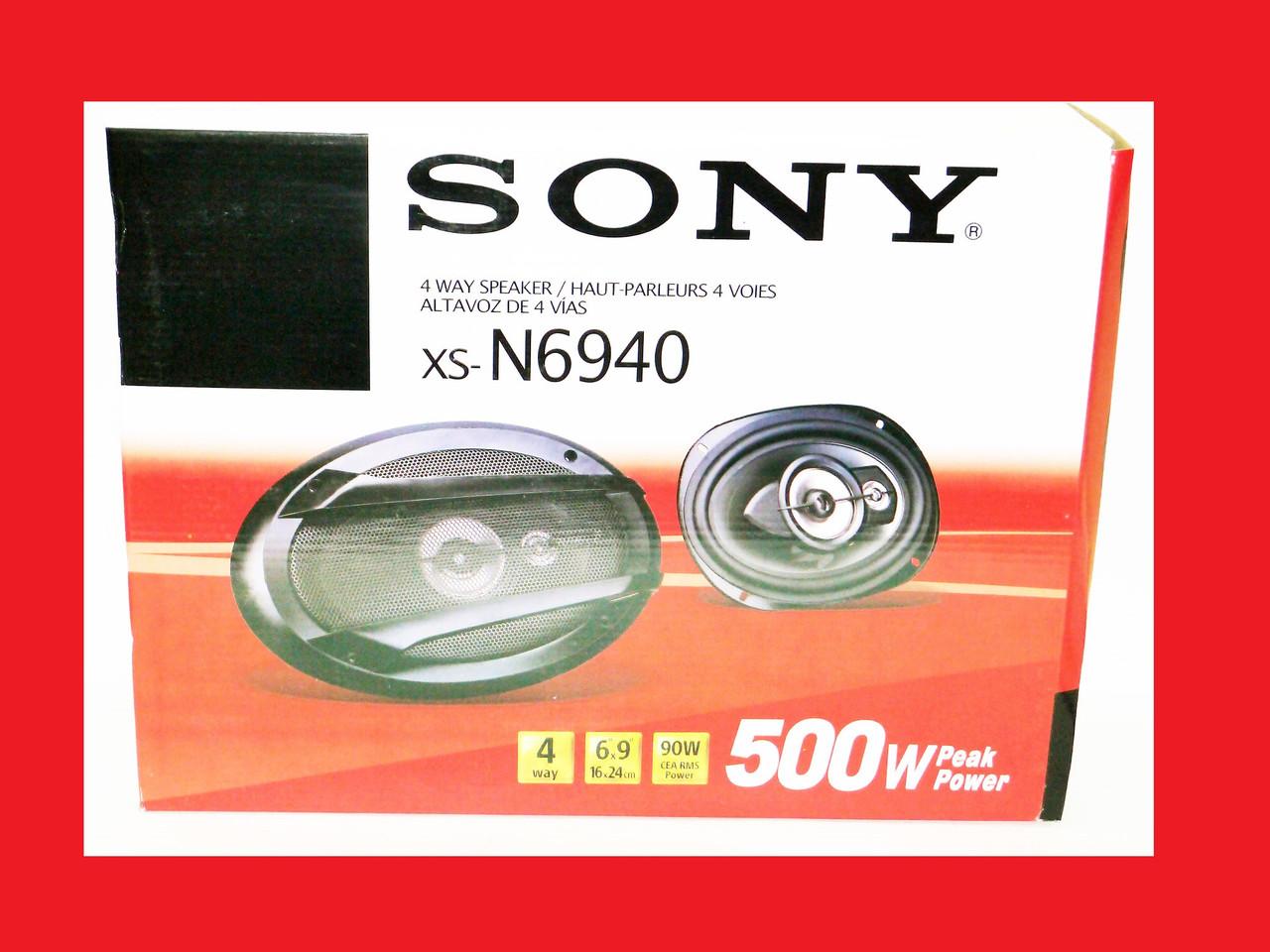 Sony XS-N6940 500W  четырехполосные