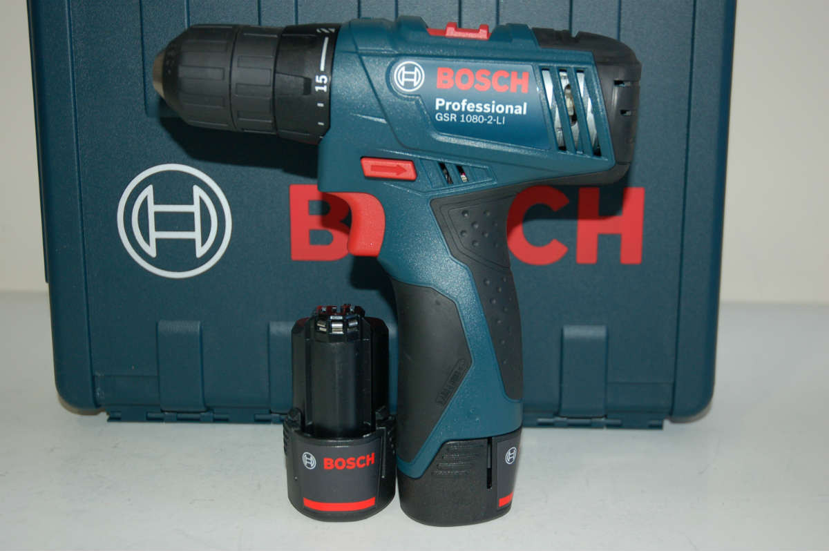 Аккумуляторный шуруповерт Bosch GSR 1080-2-LI, 06019E2000