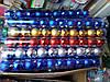 Новогодняя игрушка шарик. 6 см 10 шт упаковка