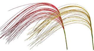 Декоративная ветка Ковыль (79см, 2 вида) 135-18