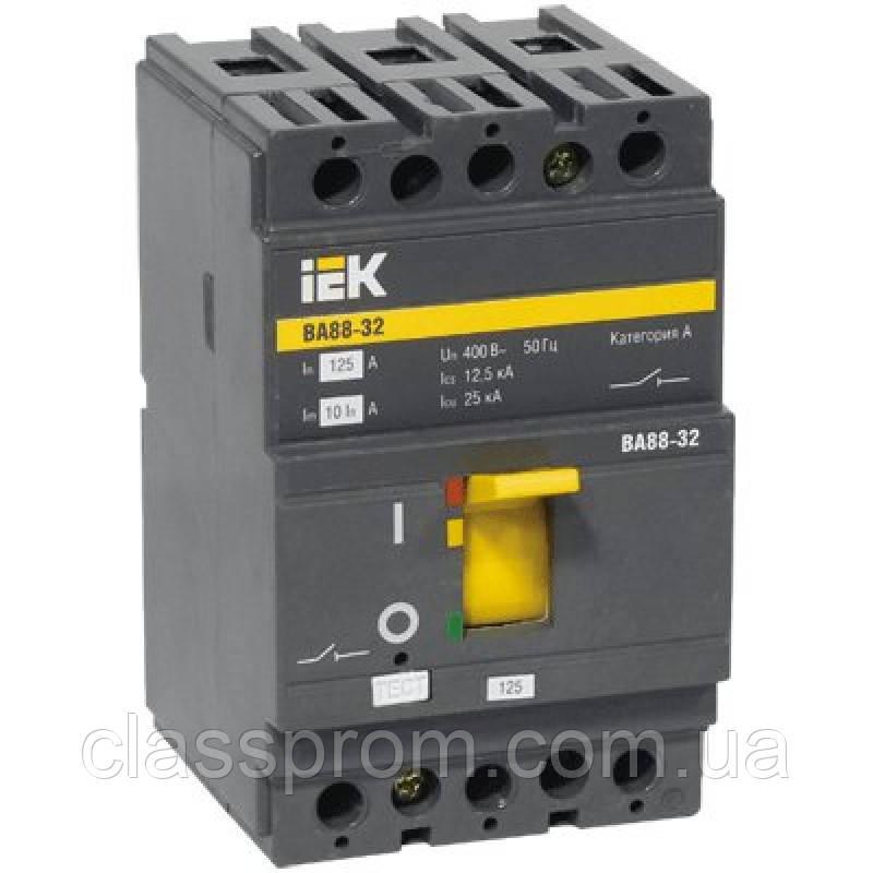 Автоматический выключатель ВА88-32 3Р 80А 25кА IEK