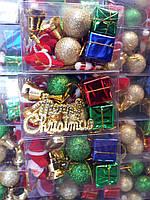 Набор новогодней игрушки 16 шт
