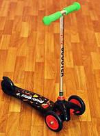 Самокат детский 3-колесный (Angry Birds) от 3 лет