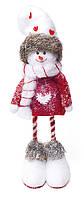 Новогодняя декоративная игрушка Снеговик 44 см. NY27-C18