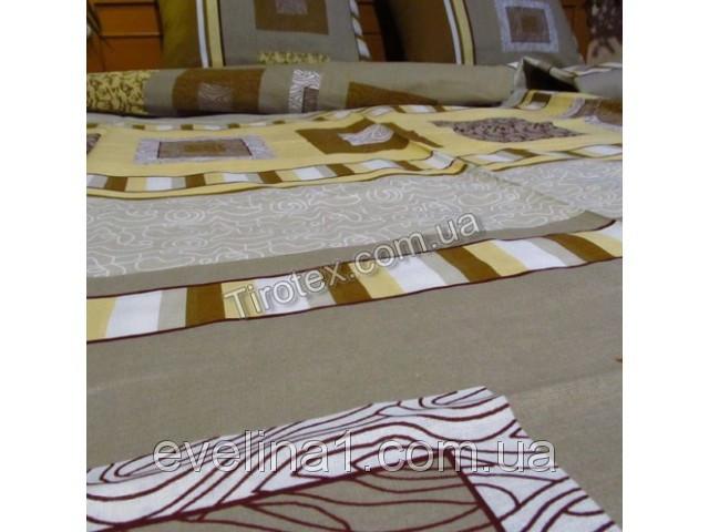 Постельное белье семейное из бязи двухспальный