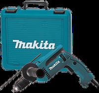 Дрель ударная Makita HP1641K + чемодан