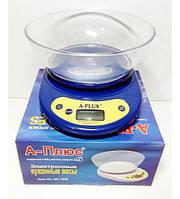 Весы А+ 1656 для кухни с чашей до 3 кг