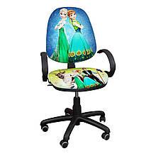 """Детское компьютерное кресло Поло Хром """"Ледяное сердце 8"""""""