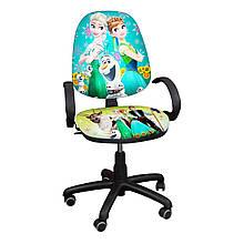 """Детское компьютерное кресло Поло Хром """"Ледяное сердце 9"""""""
