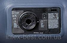 Двуспальный надувной матрас Intex 66780 (137х191х30 см.) с электрическим насосом., фото 2