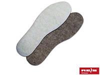 Стелька для обуви шерстяная BR-INS-WEL
