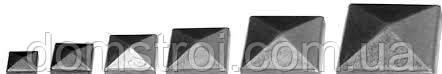 Металлическая заглушка 50х50, фото 2