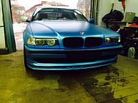 Губа юбка обвес переднего бампера BMW E38 стиль Alpina
