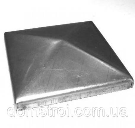 Металлические заглушки 80х80, фото 2
