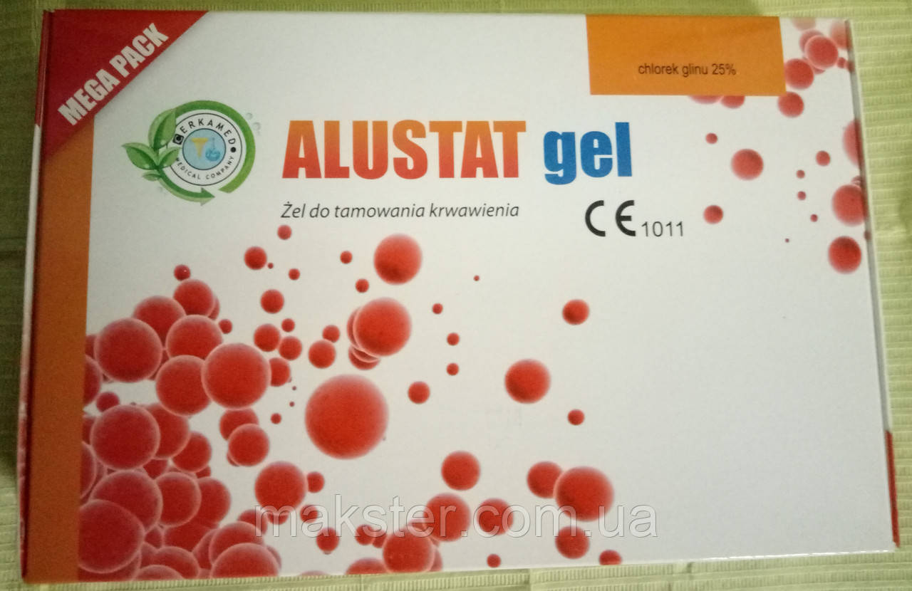 Гель кровоостанавливающий ALUSTAT GEL MEGA PACK,  3x10 мл