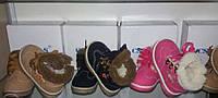 Ботинки детские зимние. Цвета: черный, розовый, кремовый.