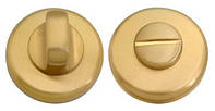 Накладка WC-фиксатор COLOMBO CD 69 BZG G матовое золото