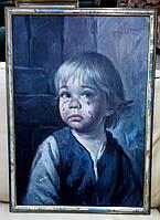 Серия репродукций «Плачущий мальчик»