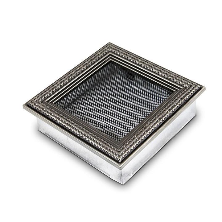 Ротанг серебряная 17x17