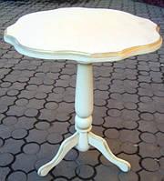 Круглый кофейный  столик подставка