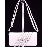 Стильная женская сумка 6373 Молочный Клатч