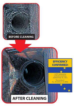 Очиститель дымохода полено-трубочист  (1,1 кг.), фото 2