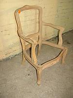 Итальянское дамское мягкое кресло в стиле рококо, каркас