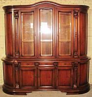 Эксклюзивная мебель из Европы старинный сервант-буфет (витрина). Италия