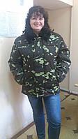 Куртка утепленная с меховым воротником,спецодежда зимняя, бушлат