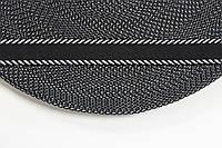 ТЖ 20мм (50м) черный+белый , фото 1