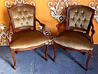 Оригинальное итальянское кресло в стиле Людовик XV. Итальянская мебель для дома. Цена за 1 шт.