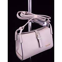 Стильная женская сумка 1533 Светло Серый Клатч