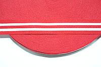 ТЖ 23мм (50м) красный+белый