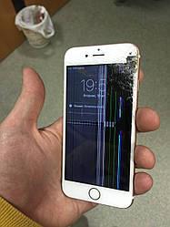 Ремонт разбитого экрана iPhone 6 (модульный ремонт), черный или белый цвета