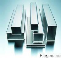 Труба проф квадратная нержавеющая (AISI 304) 10х10х1,0