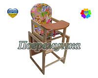 Детский стульчик для кормления Natalka - Мультик