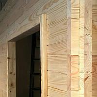 Стеновая панель сосна (АВ) 40-(135..185)-3000..4000мм