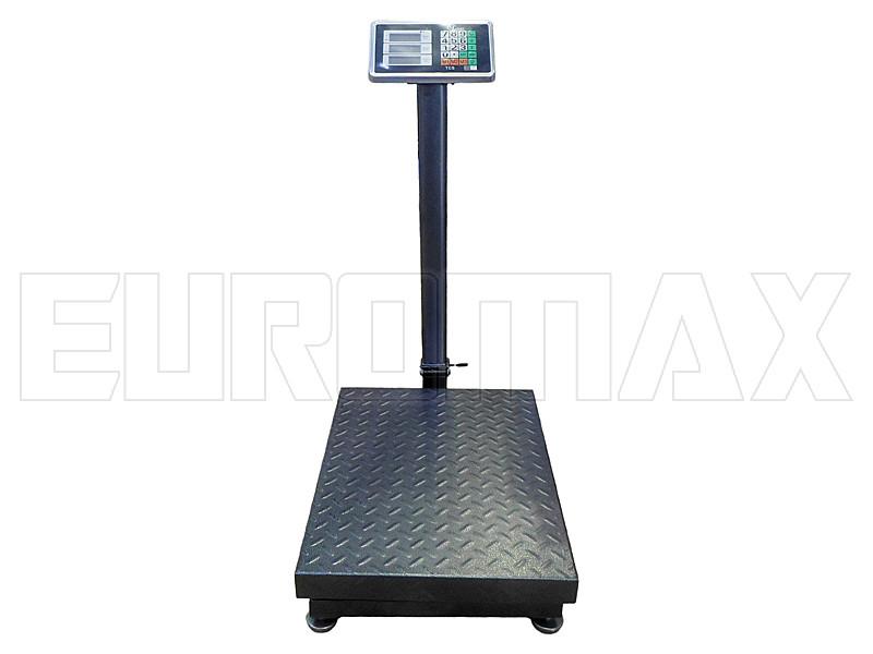 Электронные торговые весы со счетчиком цены двойная усиленная платформа (600 кг)