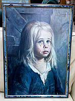 Серия репродукций «Плачущие дети»