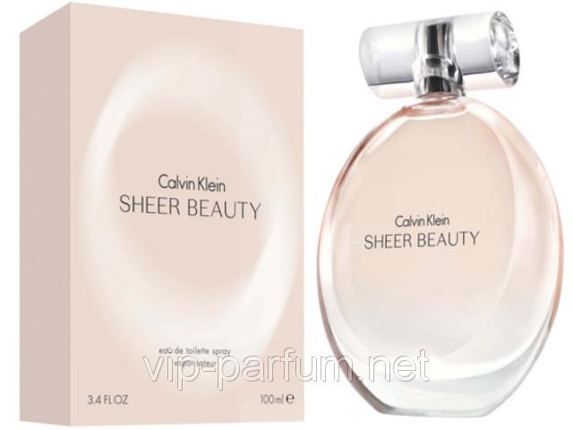 Calvin Klein Sheer Beauty туалетная вода 100 ml. (Кельвин Кляйн Шер Бьюти)
