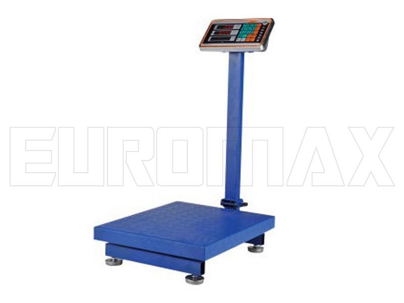 Электронные торговые весы Чемпiон 600 кг с усиленной платформой 45х60см