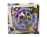 Набор для творчества embroidery clock Васильки (10)