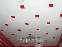 Кассетный алюминиевый подвесной потолок