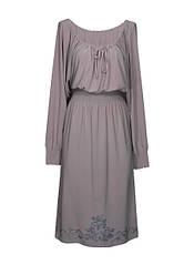 Трикотажное платье на резинке Винтаж
