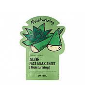 TonyMoly - I'm Real Aloe Face Mask Sheet - Moisturizing Тканевая маска