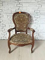 Итальянский мягкий стул с подлокотниками