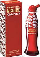 Женская туалетная вода Chic Petals Moschino (Цветочный, Фруктовый, Древесный аромат)  AAT