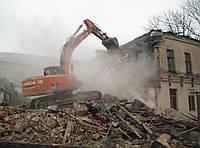 Демонтаж промышленных и гражданских зданий и сооружений, разбор завалов