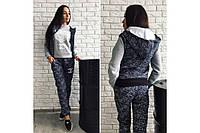 Женский теплый костюм тройка Шанель р. S/M/L
